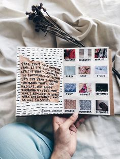 best of art journal (September entries)   white flatlay, creative, art journaling ideas inspiration,