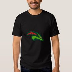 Robin Hood Hat Retro Tee Shirt. Illustration of a style of medieval hat with a pointed brim and feather which we modernly associate with Robin Hood viewed from side set on isolated white background done in retro style. #Illustration #RobinHoodHat