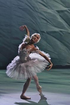 "Ekaterina Shipulina (Bolshoi Ballet)    ""The Dying Swan"" from ""Swan Lake"" ballet    Photo © Alexey Yakovlev"