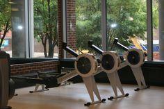1st floor cardio room- rowing machines