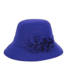 7db2004e29c Magid Royal Double Floral Wool-Blend Bucket Hat