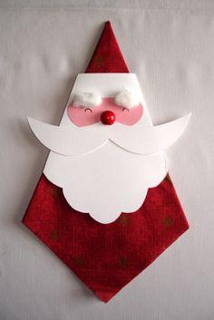 Nice napkins-decoration for the christmas-dinner Cute Christmas Decorations, Christmas Crafts To Make, Christmas Napkins, Christmas Origami, Christmas Projects, Kids Christmas, Christmas Gifts, Christmas Ornaments, Merry Christmas