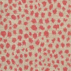 Pattern #15470 - 4 | Hewlett Linen Collection | Duralee Fabric by Duralee | Pink Polka dots | Les Touches look alike