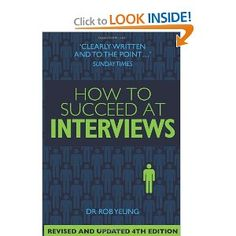 How to Succeed at Interviews - This title provides advice for not only the interview process, but any assessments or tests that may be asked during the application process. With advice on over 200 interview questions, this title can help teens prepare for success during the interview process.    #interview #applyingtojobs