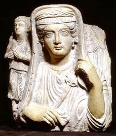 During the first centuries of our era the city of Palmyra, situated in an oasis in the Syrian desert, reached unprecedented prosperity. At the time of the legendary queen Zenobia Palmyra's. Ancient Near East, Ancient Romans, Ancient Art, Ancient History, Statues, Ancient Goddesses, Ancient Mesopotamia, Poetry Art, Roman Art