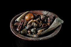 Chokwe divination basket. DRCongo