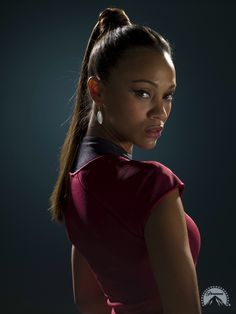 She's fairly easy to do, you could pretty easily find the red dress thanks to Zoe Saldana and the new Star Trek remake. Description from zizuandstuff.wordpress.com. I searched for this on bing.com/images Star Trek 2009, Star Trek Series, Zoe Saldana Star Trek, Nichelle Nichols, Star Trek Characters, Star Trek Universe, Gi Joe, American Actress, Actors & Actresses