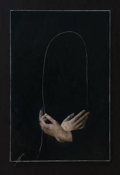 Nicola Samorì - In principio era la fine, 2016 Olio su tavola Image Psychedelic, Aqua Regia, Arte Obscura, Arte Horror, Aesthetic Art, Character Aesthetic, Dark Art, Oeuvre D'art, Art Inspo