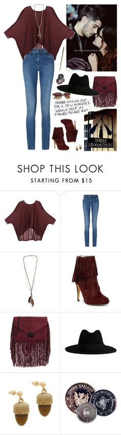 """""""[RLP] Hogsmeade"""" by ohhmyguinness ❤ liked on Polyvore featuring THEM ATELIER, Calvin Klein, Dorothy Perkins, Michael Antonio, Loeffler Randall, Yves Saint Laurent and Kate Spade"""