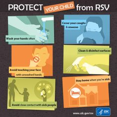 RSV usually causes mild, cold-like symptoms, but it can be serious, especially for infants and older adults. Help protect your child and others from #RSV by following a few prevention tips.