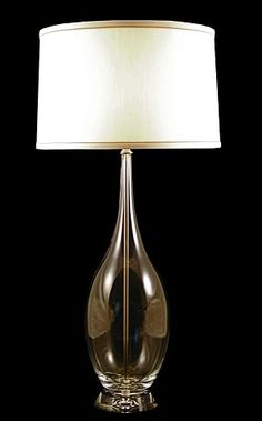 Clear Glass Urn Table Lamp by Lamp Works $292 finehomeproducts.com