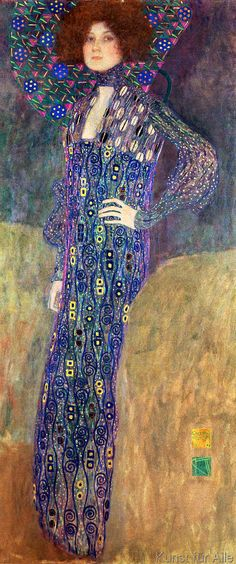 Gustav Klimt - Emilie Floege