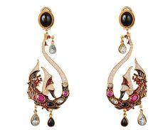 Feather Jewelry, Scarf Jewelry, Cute Jewelry, Modern Jewelry, Jewelry Crafts, Vintage Jewelry, Jewelry Accessories, Jewelry Design, Unique Jewelry