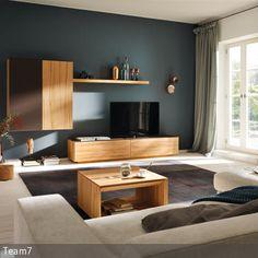 die wandfarbe petrol ist nicht nur auergewhnlich sie verleiht dem wohnzimmer auch ein gemtliches ambiente - Wandfarbe Petrol