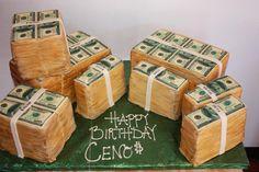 Money Cake...just my kind of cake :)