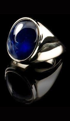 mens cabochon ring
