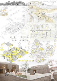 Javier Janda / Proyectos de A R Q U I T E C T U R A: Concurso COAM PFC 2014