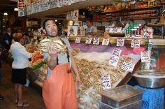 Pike Place Market, Seattle, WA (2006 and 2009)