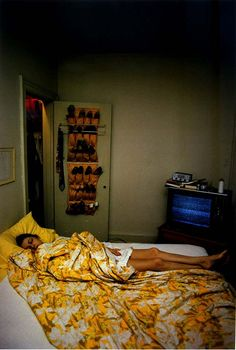 William Eggleston, Untitlted (Rosa Sleeping) Memphis, TN from Dust Bells Volume 1