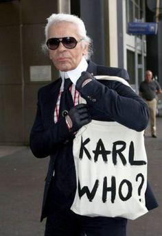 "NACO - ""Karl Who?"" Tote - Freshness Mag"