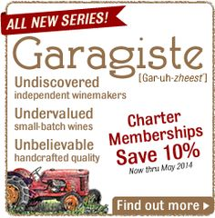 Garagiste Series: Wine Club: Gold Medal Wine Club®