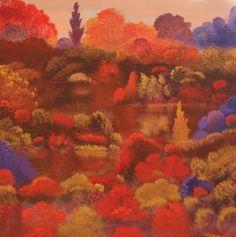 "Saatchi Art Artist David Snider; Painting, ""Before The Leaves Fall"" #art"