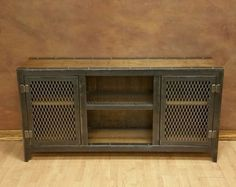 The Vintage - Industrial Console Cabinet #002S • Industrial Style Furniture by Industrial Evolution Furniture Co.