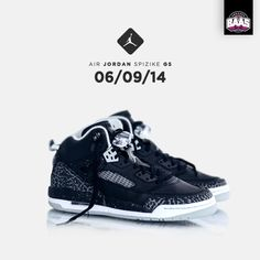 "Air Jordan Spizike GS ""Black"" 