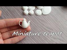Miniature saucepan and lid. Tutorial. Polymer clay. Миниатюрная кастрюля и крышка. Полимерная глина - YouTube