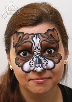 PUG DOG FACE PAINT - Google Search