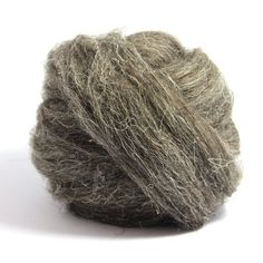 The Herdwick is a domesticated sheep native to the Lake District of Cumbria in North West England. Herdwick wool is undeniably durable, extremely hardy, and warm. Thick bristle type fibers will often