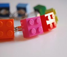 Commit with fantastic plastic Lego rings