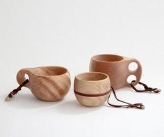 Kuksa Finnish Camping Cups