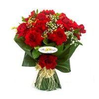 Buque de Rosas Vermelhas Fascinação
