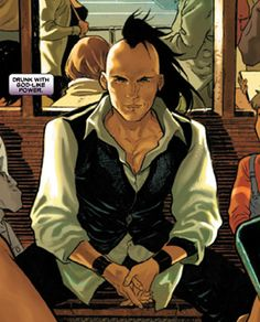 """Daken   Queer Comic Book Characters: Daken Akihiro (Oct 2nd)   6'7"""" and Green ..."""