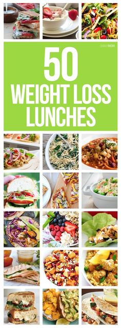 50 Healthy Lunches To Help You Lose Weight