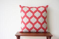 Scandinavian Minimalist Geometric Pillows and Cushions by BeadandReel Sofa Throw Pillows, Throw Pillow Covers, Moroccan Cushions, Red Decorative Pillows, Geometric Pillow, Vintage Marketplace, Quatrefoil, Etsy Seller, Handmade