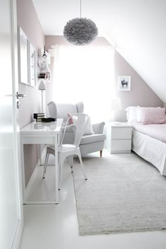 Bedroom Design Ideas for Small Rooms You Will Love - 10 Exciting Bedroom Decorating Ideas Diy Home Decor Bedroom For Teens, Kids Bedroom, Bedroom Decor, Bedroom Ideas, Modern Bedroom, Bedroom Wall, Small Bedroom Inspiration, Master Bedroom, Attic Bedroom Designs