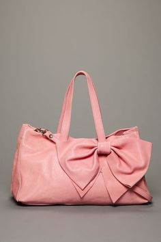 Valentino shoulder bag in pink leather