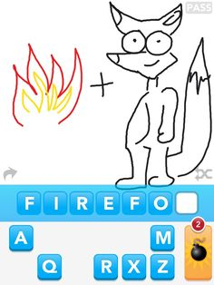 """Best App Ever: """"Draw Something"""". Move over Spider Solitaire...  haha"""
