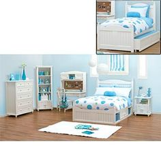 Storage 101 Full and Twin Bedroom Collection  Girl's Bedroom Option