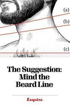 Your Beard Neckline - How To Find Your Beard Line