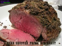 Herb Crusted Prime Rib Roast – Video