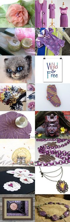 Colors of Spring by Laura P. on Etsy--Pinned+with+TreasuryPin.com