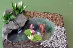Miniature Water Features From Sheet Plastic: Make Scale Miniature Model Water Features With Clear Sheet Styrene or Acrylic