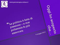 #politica professionale: che #passione!