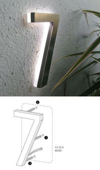 building sign & light
