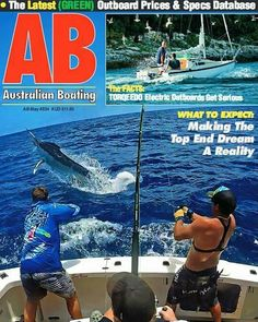 Stoked for one of my photos to get fromt cover !!! #seafever_sportfishing #austrslianboating #blackmarlin #greatbarrierreef #thisisqueensland #fiishing#sportfishing  #giants by paulie_moran http://ift.tt/1UokkV2