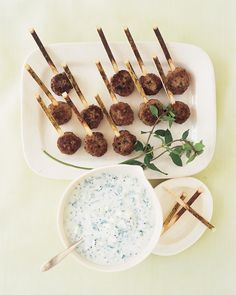 Serve this cooling yogurt condiment with our Lamb Koftas.