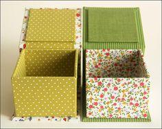 Caixas petit flores